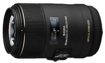 Sigma 105mm F2.8 EX DG OS HSM Macro Lens in Canon EOS fit (UK Stock) BNIB