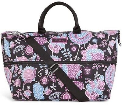 VERA BRADLEY Lighten-Up Expandable Travel Bags - Extra Space for Travel - NWT