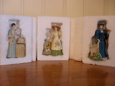 Lot of 3 - Mrs Albee Miniatures, 2007-2008, 2008-2009 and 2009-2010