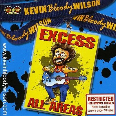 Kevin Bloody Wilson - Excess All Areas [New CD] Australia - Import