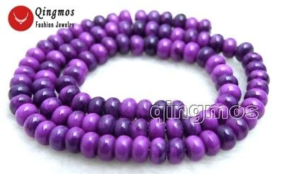 4*6mm Rondelle Purple Sugilite Loose Beads for Jewelry Making DIY Strand 15''