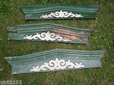 Architectural Salvage Victorian Window Headers Pediments