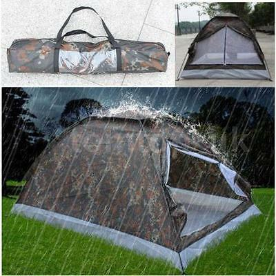 Outdoor 2 Person 4Season C&ing Hiking Waterproof Folding Tent Camouflage & CLEARANCE SALE 2 Person Double Layers Camping Hiking Backpacking ...