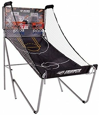 Triumph Sports Big Shot 8-in-1 Two-Player Basketball