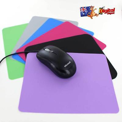 Blue Green Pink Purple Grey Black Silicone Mouse Pad Optical Laser Bluetooth USB
