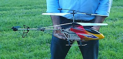 "Large Remote Control Rc Helicopter -  Br6098T - 80Cm - 31"" - 3.5 Channels - Gyro"