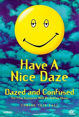 """""""Dazed And Confused"""" Classic American Teen Comedy Movie Poster A1A2A3A4Size"""