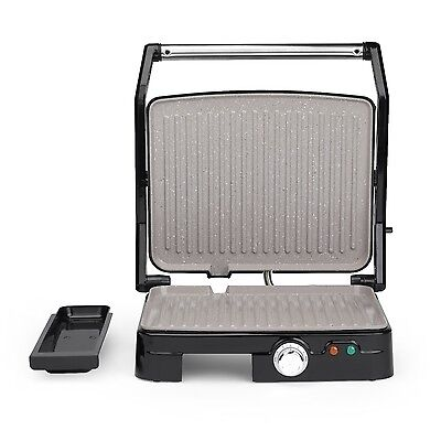 Salter 1800W Non-stick Marble Ceramic 180° Health Meat Grill Griddle Griller New
