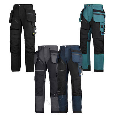 Snickers Ruff Work Heavy Duty Work Trousers +Knee Pad & Holster Pockets  6202