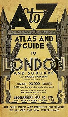 London Street Atlas - Historical Edition (A... by Geographers A-Z Map  Paperback