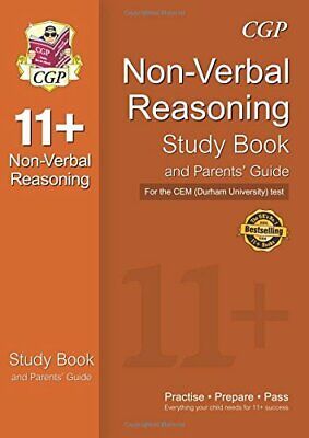 11+ Non-Verbal Reasoning Study Book and Parents' Guide for the C... by CGP Books