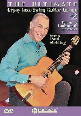 Ultimate Gypsy Jazz/Swing Guitar Lesson: Putting the Fundamental (2013, DVD NEW)