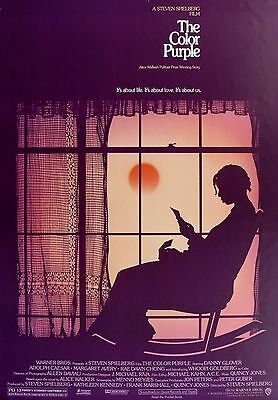 """The Color Purple""..Steven Spilbergs Classic Movie Poster A1A2A3A4Sizes"