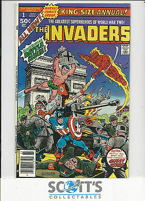 Invaders Annual   #1   VF