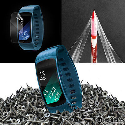 Samsung Galaxy Gear Fit 2 FRONT SHIELD Invisible Screen Protector
