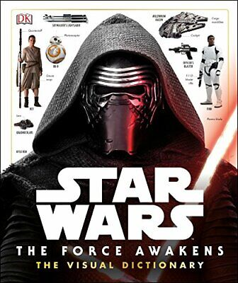 Star Wars The Force Awakens Visual Dictionary by DK Book The Cheap Fast Free