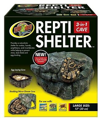 Zoo Med Repti Shelter 3 in 1 Cave - Large