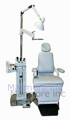 Optometry Optician Chair and Stand Woodlyn New upholstery