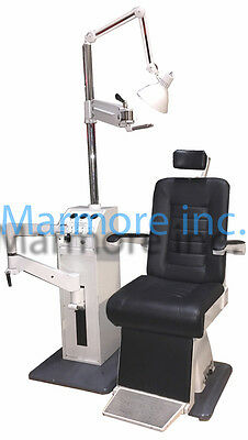 Optometry Optician Chair and Stand Burton XL 3300 New upholstery