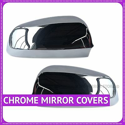 chrome wing door mirror cover cups for Audi A6 2004-2008