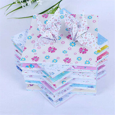 72 Sheets/pack 15X15cm Origami Folding Paper Crane Butterfly DIY Decoration