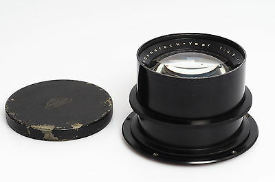 Rodenstock Ysar 4.5/42cm 420mm Brass Large Format Lens wet plate up to 11x14