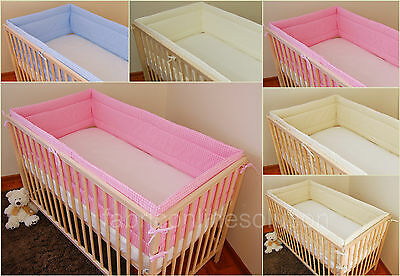Cot Bumper to fit Cot 120 x 60 cm Absolute BARGAIN!!!!!!