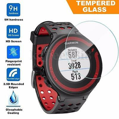 9H Tempered Glass Screen Protector For Garmin Forerunner 225/230/235/620/630 NEW