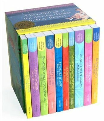 Oxford Children's Classic Box Set, Various Book The Cheap Fast Free Post