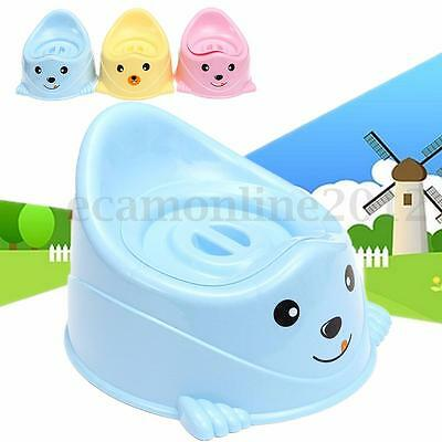 Girls Boys Baby Child Kids Toddler Toilet Seat Chair Training Potty With Lid