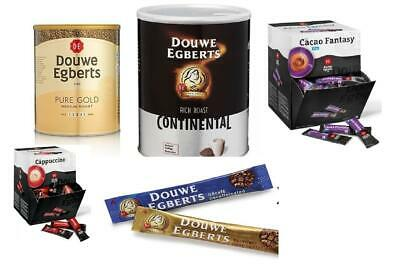 Douwe Egberts instant coffee including decaf