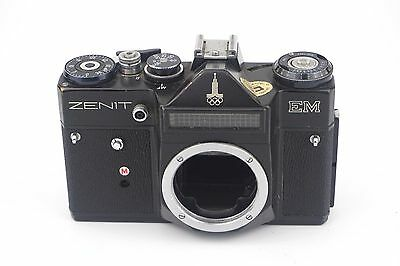 Zenit EM Moscow Olympics 1980 Edition Camera Body For Parts