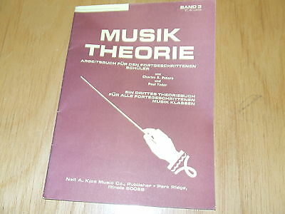 Musik Theorie Band 3  Charles S Peters und Paul Yoder