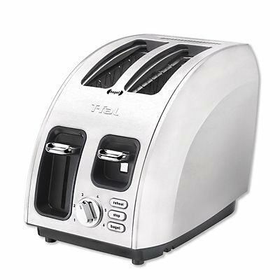 T-Fal Avanti Icon 2-Slice Toaster - Brushed Stainless