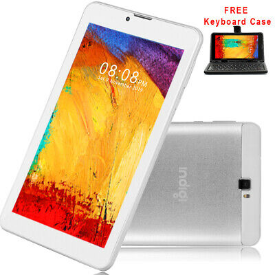 "7"" Android 4.4 3G Unlocked Dual-Sim Tablet Phone w/ SmartCover & Bundle Included"