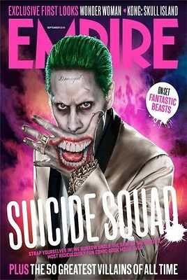 SUICIDE SQUAD Empire magazine The Joker cover replica magnet - new!