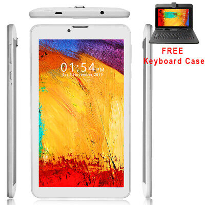 "Unlocked! 7"" Android 4.4 3G 2sim Tablet & Phone w/ SmartCover & Bundle Included"