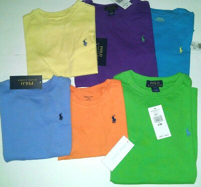 Polo Ralph Lauren boys t shirt Cotton Crew neck