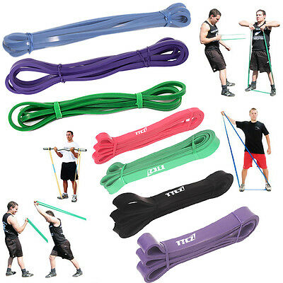 Tension Resistance Bands Loop Crossfit Strength Loose Weight Training Fitness