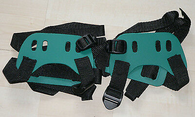 "Brand new pair of GV bindings for snowshoes ""GREEN"" FREE SHIPPING!"
