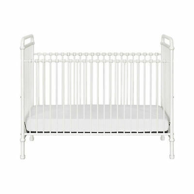 Franklin & Ben Abigail 3-in-1 Convertible Iron Crib in Washed White