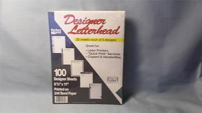 Perfect Prints Designer Letterhead Craft Printer Paper- 5 Assorted  - 100 ct. A3