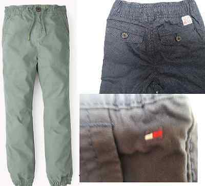 Boys designer trouser chino elasticated cuffs waist Baby to 16 years RRP £49