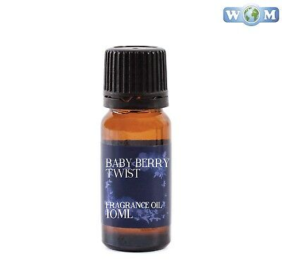 Baby Berry Twist 10ml Fragrance Oil for Soap, Bath Bombs (FO10BABYBERRTWIS)