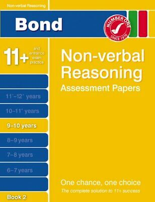 Bond Assessment Papers in Non-verbal Reasoning 9-10 ..., Morgan, Nicola Pamphlet