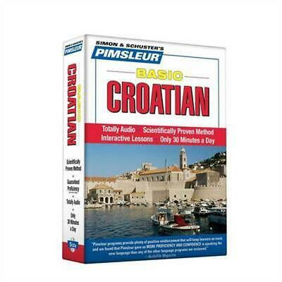 Basic Croatian [With CD]: Learn to Speak and Understand Croatian with Pimsleur L