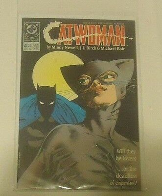 Catwoman #4 DC Comics 1989 Mini Series