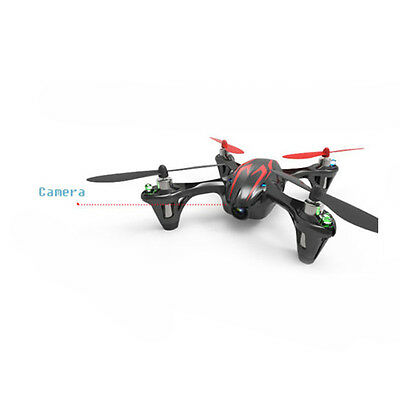Hubsan X4 H107C 2.4G 4CH RC Quadcopter with Camera Gyro Drone Black & Red