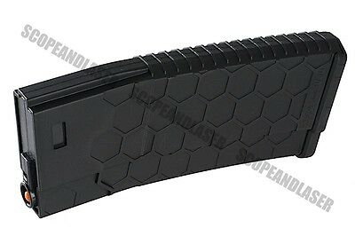 HEXMAG 120rds Polymer Mag for AEG Black Marui G&P FREE Ship