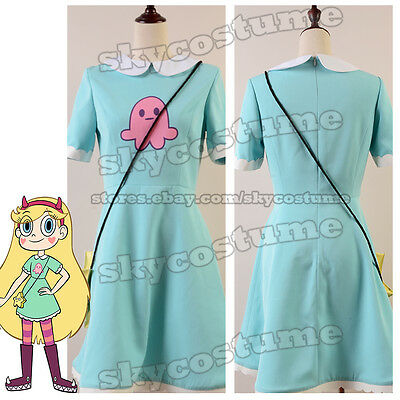 Star vs. the Forces of Evil Princess Star Butterfly Suit Outfit Cosplay Costume